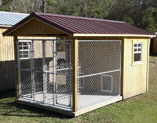 Dog Kennels Storage Buildings Of Georgia