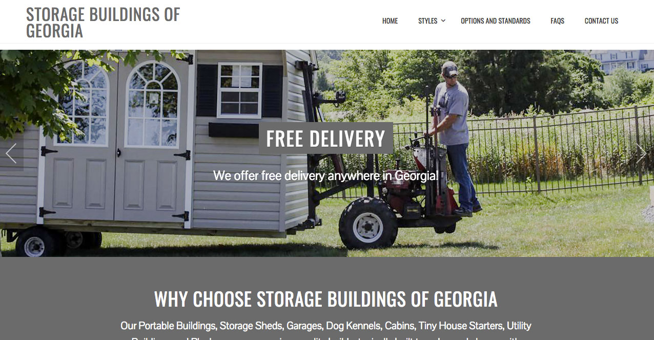 Storage Buildings Of Georgia | Portable Buildings, Storage Sheds, Garages,  Dog Kennels
